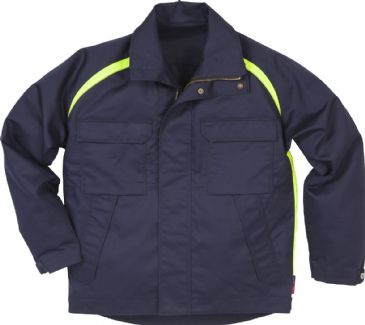Fristads Flame Welding Jacket 4031 FLAM (Dark Navy)
